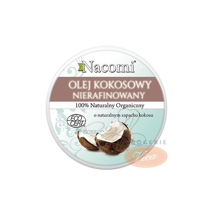 NACOMI Naturalny Olej Kokosowy Nierafinowany, 100ml