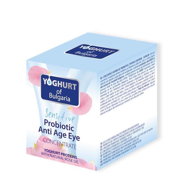 YOGHURT Probiotyczny koncentrat pod oczy redukujący zmarszczki z olejkiem różanym, 40ml