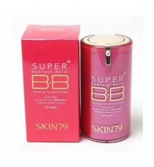 SKIN79 Super+ Beblesh Balm SPF30, 3-funkcyjny krem do twarzy BB Pink, 40g