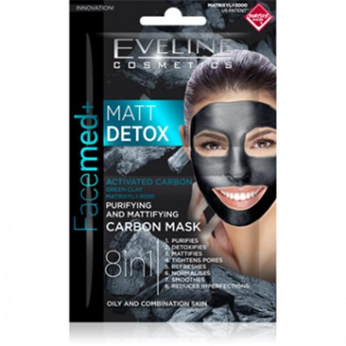 Eveline Facemed+ Matt Detox maska...