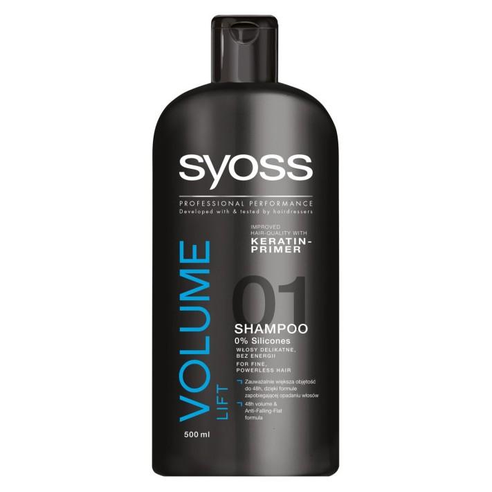 SYOSS Volume Collagen & Lift Szampon,...