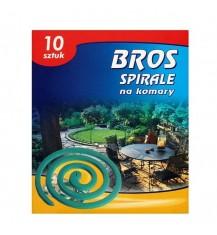 BROS Spirale na komary, 10 szt