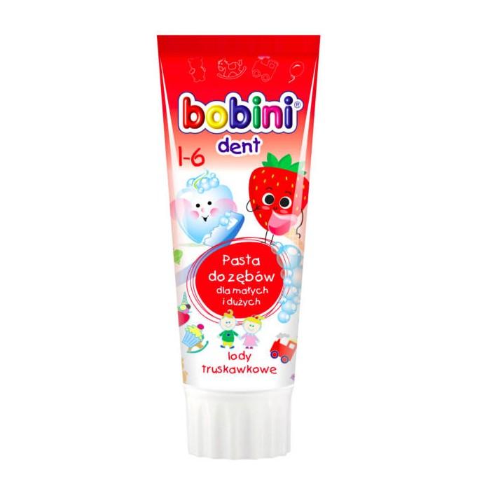 Bobini, Pasta do zębów dla dzieci...