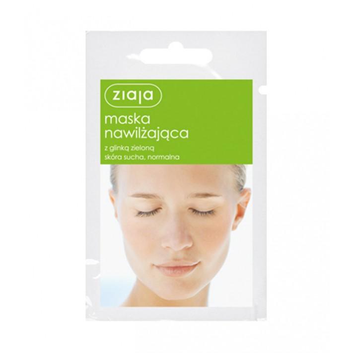 Ziaja maska nawilżająca z glinką, 7 ml