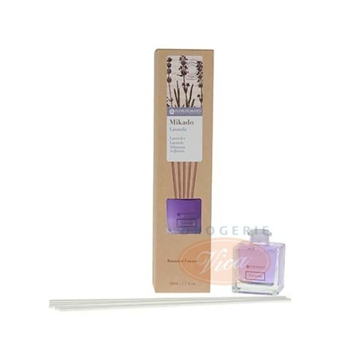 FLOR DE MAYO Olejek aromatyczny z patyczkami, lawenda, 50 ml