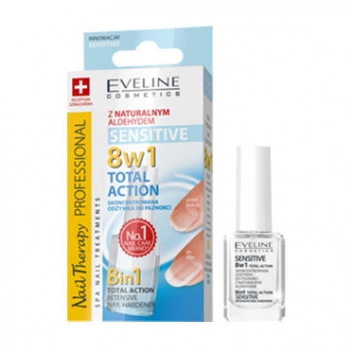 Eveline, 8in1 Total Action Nail...