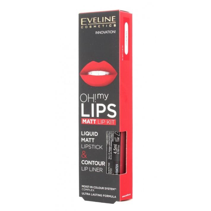 Eveline, OH! My Lips, pomadka w...