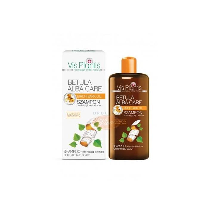 BETULA ALBA CARE Vis Plantis Szampon do włosów z dziegciem brzozowym, 300 ml