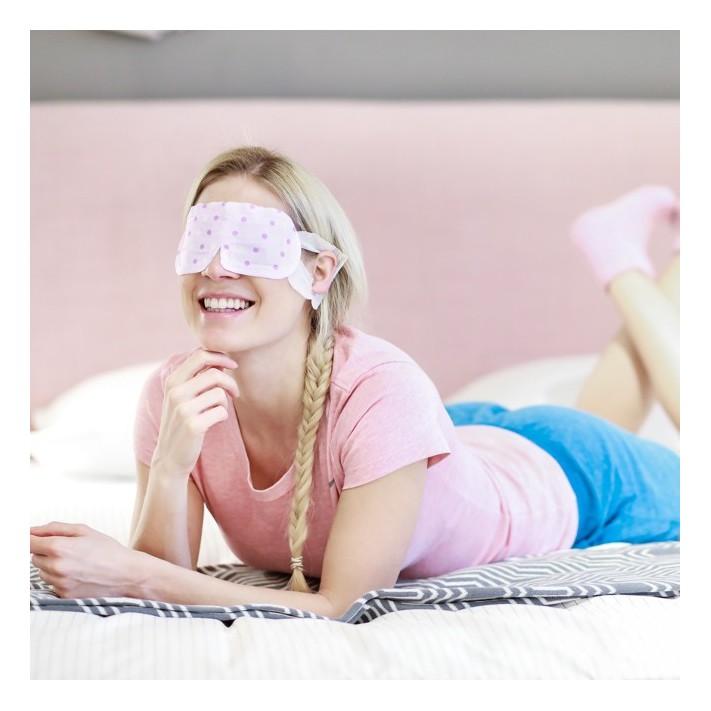 HOT EYES STEAM Rozgrzewająca maska na oczy, 5 szt