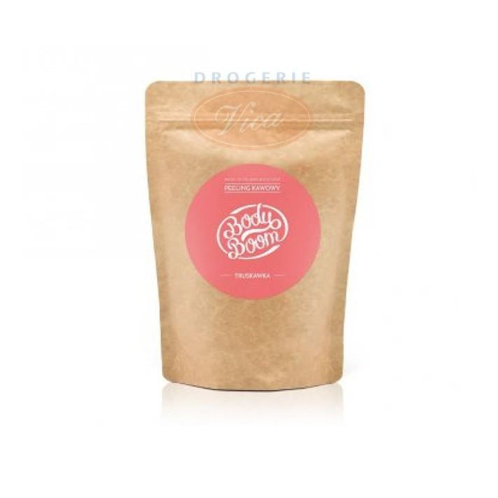 BODY BOOM Zmysłowa truskawka, peeling kawowy, 30g