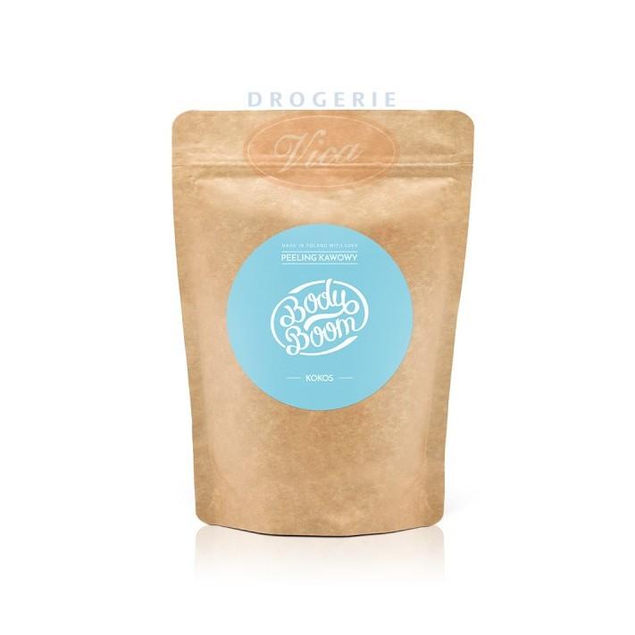 BODY BOOM Imprezowy Kokos, peeling kawowy, 30g