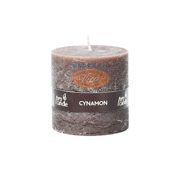 PRO CANDLE Świeca zapachowa, walec 50x50, aromat Cynamon