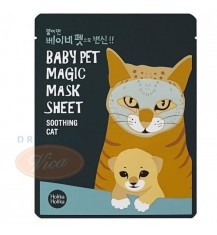 HOLIKA HOLIKA Maseczka do twarzy Cat Baby Pet Magic MASK SHEET, 1 szt