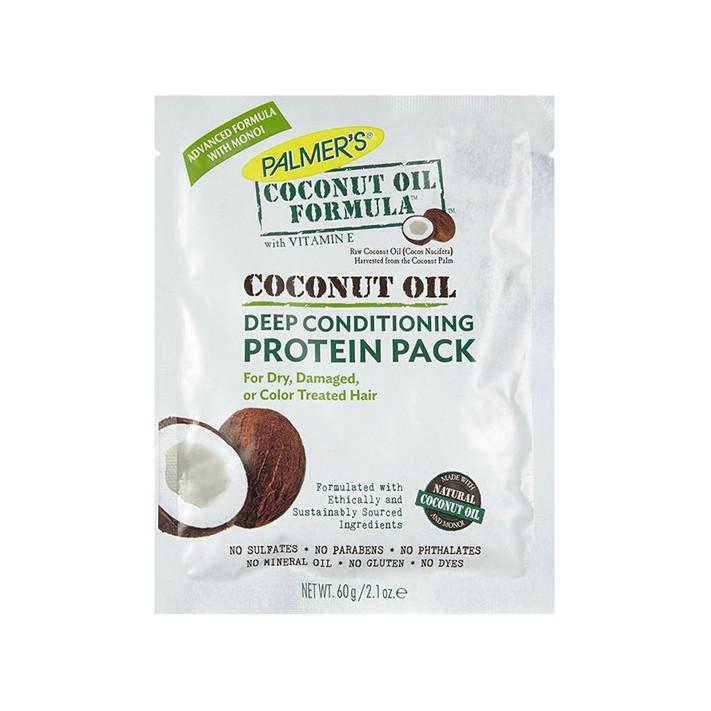 PALMERS Kuracja proteinowa do włosów z olejkiem kokosowym 60g