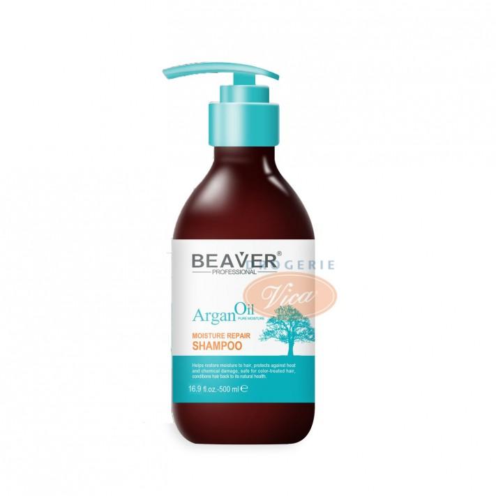 BEAVER Argan Oil Szampon do włosów, 500ml