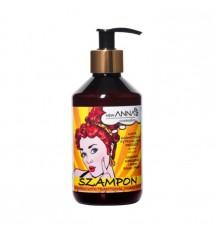 NEW ANNA COSMETICS Szampon z naftą kosmetyczną, cytryny i drożdże, 300 ml