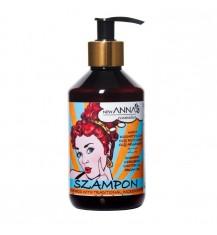 NEW ANNA COSMETICS Szampon z naftą kosmetyczną, olejem arganowym i olejem rycynowym, 300 ml
