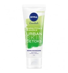 NIVEA URBAN SKIN 1-minutowa maska do twarzy, 75 ml