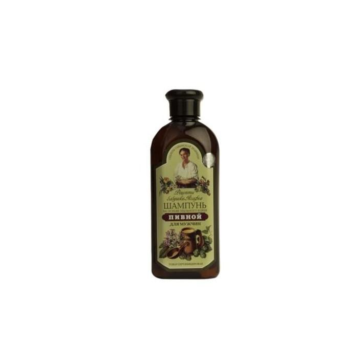 Babcia Agafia Szampon piwny, 350 ml